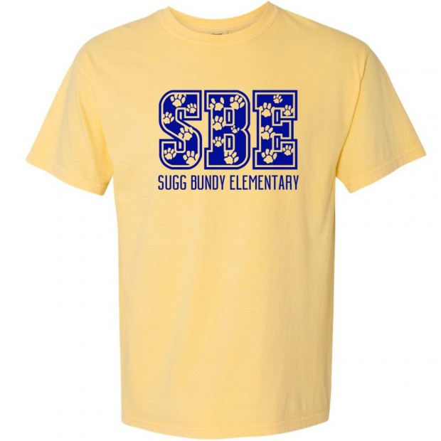 Sugg Bundy Comfort Colors Tee | SBE Paws | Multiple Colors