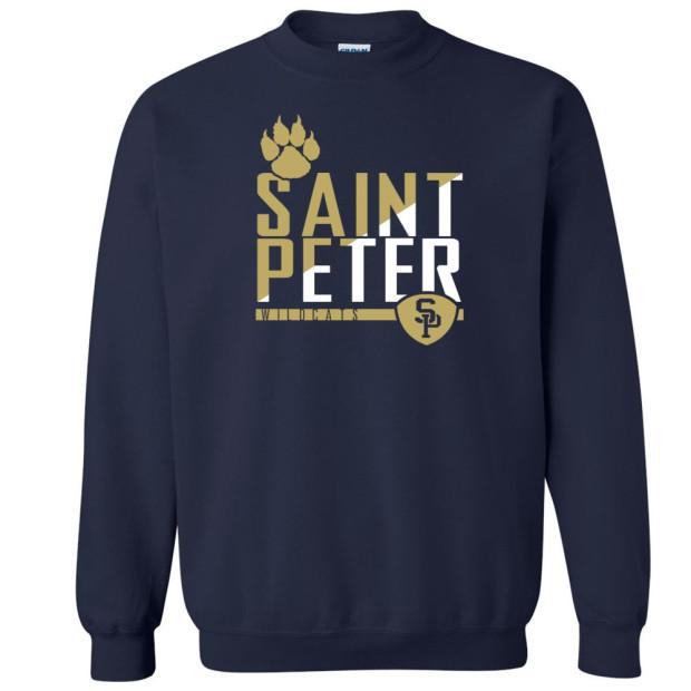 Saint Peter Wildcats Crewneck Sweatshirt
