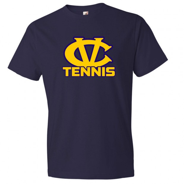 DH Conley Tennis Cotton Tee | CV Tennis Logo | Multiple Colors