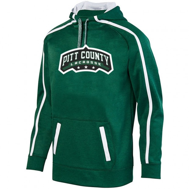 Pitt County Lacrosse Stoked Tonal Heather Performance Hoodie | Word Logo