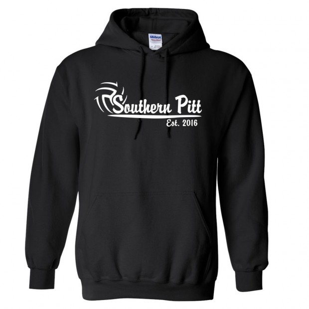 Southern Pitt Volleyball Cotton Hooded Sweatshirt | Multiple Colors