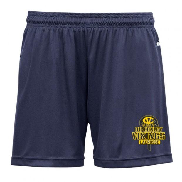 DH Conley Lacrosse Ladies Performance Solid Shorts