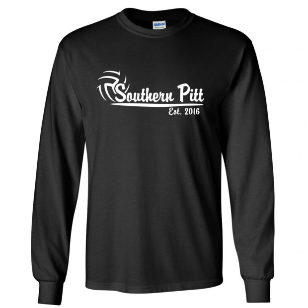 Southern Pitt Volleyball Long-Sleeve Cotton Tee   Multiple Colors