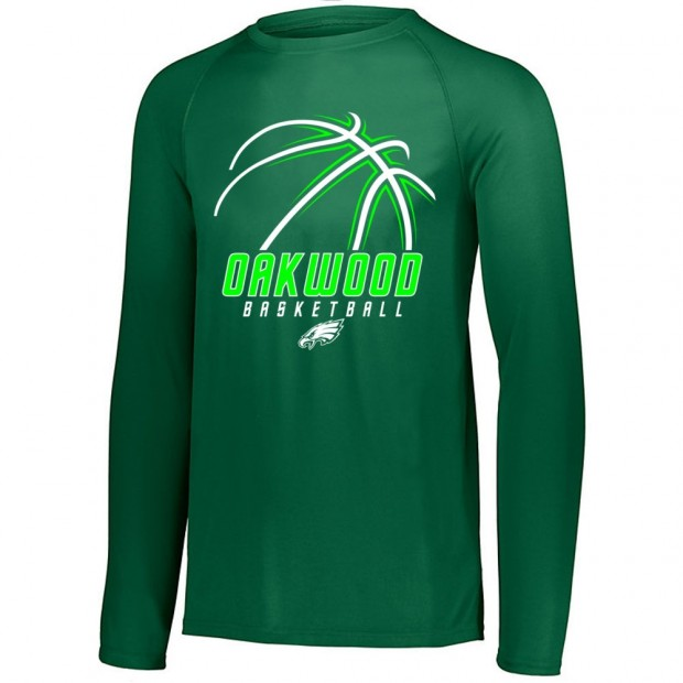 Oakwood Basketball Long-Sleeve Performance Tee | Multiple Colors