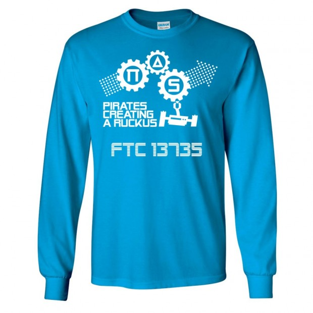 FTC 13735 Robotics Long-Sleeve Cotton Tee | Multiple Colors