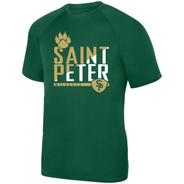 Saint Peter Wildcats Performance Tee | Multiple Colors