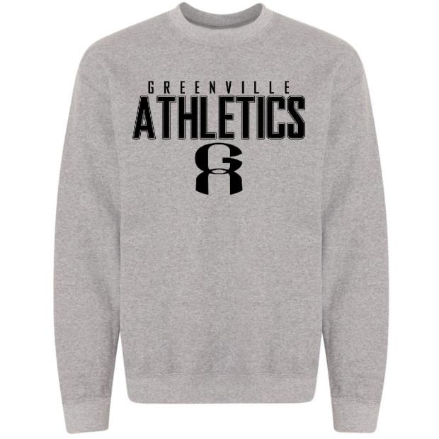 Greenville Athletics Crewneck Sweatshirt   Word Logo