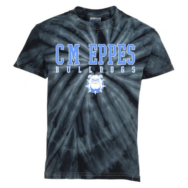 CM Eppes Tie-Dyed Tee | Word Logo | Multiple Colors