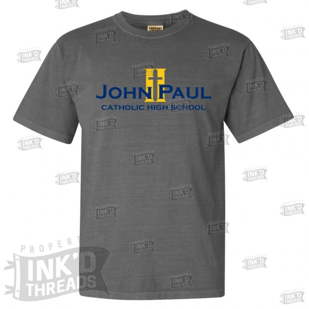 John Paul II Full Front Logo Comfort Colors Tee | Multiple Colors
