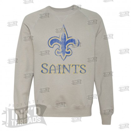 Distressed Saints Logo Sweatshirt