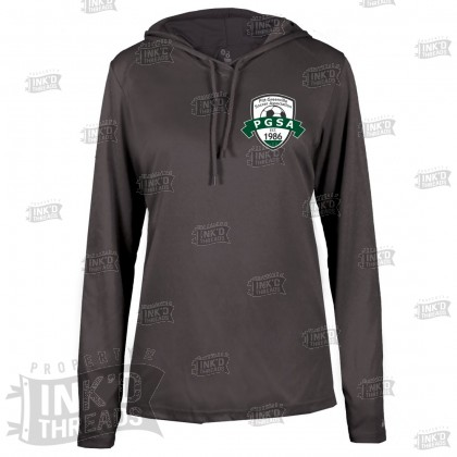 PGSA Ladies Lightweight Performance Hoodie | Small Logo
