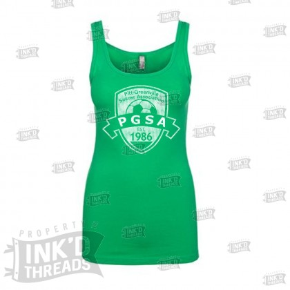 PGSA Ladies Tank Top | Distressed Logo