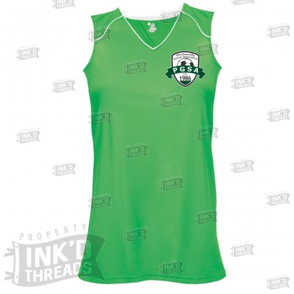 PGSA Girls & Ladies Adrenaline Sleeveless Tee | Small Logo