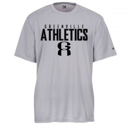Greenville Athletics Performance Tee | Word Logo
