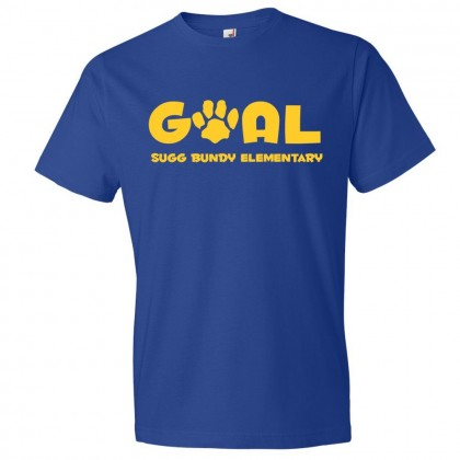Sugg Bundy Elementary Cotton Tee | Goal Logo | Multiple Colors