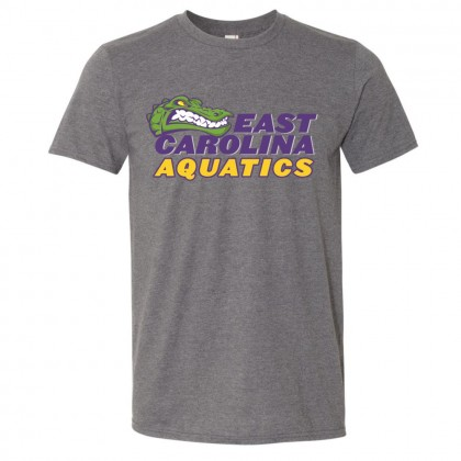 ECA Gators Swimming Cotton Tee | Full Color Logo | Multiple Colors