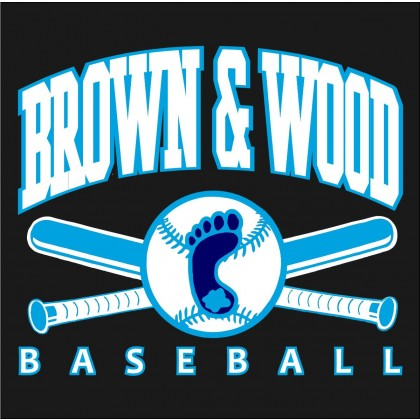Brown & Wood Car Window Sticker