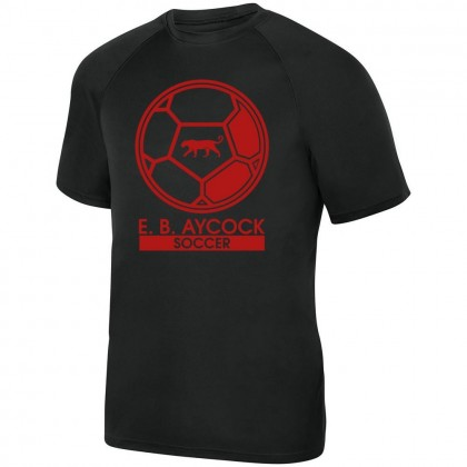 EB Aycock Soccer Basic Performance Tee | Soccer Ball Logo