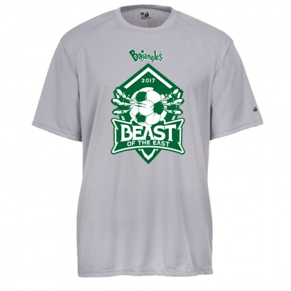 2017 Beast of the East Performance Tee | Silver