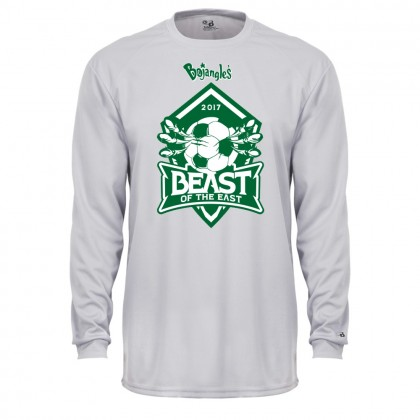 2017 Beast of the East Performance Tee | Long-Sleeve | Silver