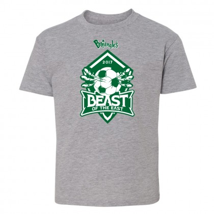2017 Beast of the East Cotton Tee | Heather Grey