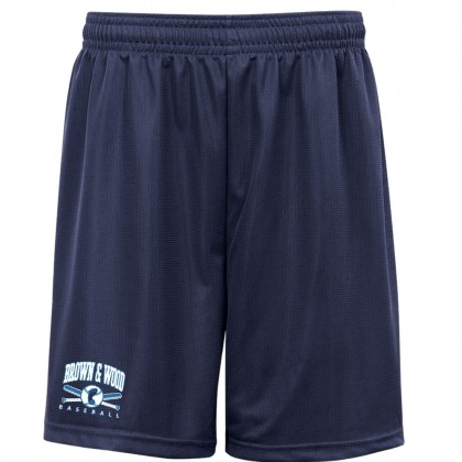 Brown & Wood Performance Shorts | Navy