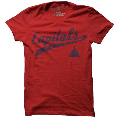 Raleigh Capitals Baseball T-Shirt