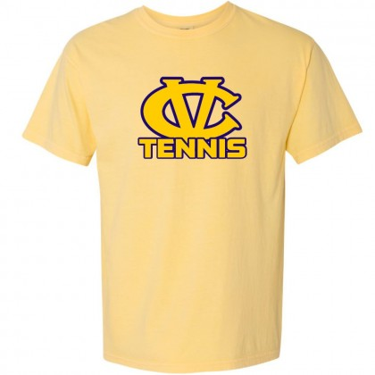 DH Conley Tennis Comfort Colors Tee | CV Tennis Logo | Multiple Colors