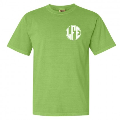Lakeforest Monogram Comfort Colors Tee | Multiple Colors