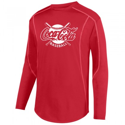 Coca-Cola Edge Fleece Pullover | Crossed Bats