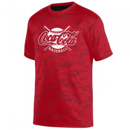 Coca-Cola Sleet Performance Tee | Crossed Bats