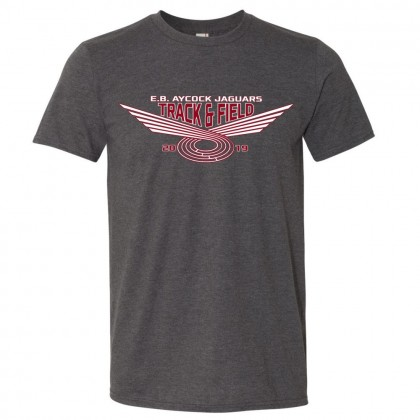 E. B. Aycock Track & Field Cotton Tee   Multiple Colors