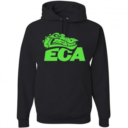 ECA Gators Cotton Hooded Sweatshirt | Black