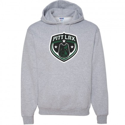 Pitt County Lacrosse Cotton Hooded Sweatshirt | Shield Logo | Multiple Colors