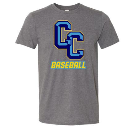 C&C Baseball Basic Cotton Tee | Multiple Colors | Sizes For Whole Family
