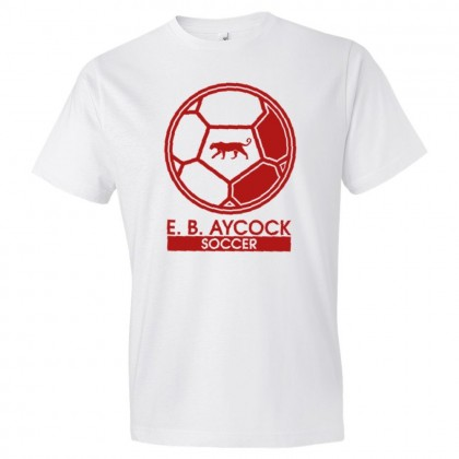 E. B. Aycock Soccer Ball Logo Tee | Multiple Colors