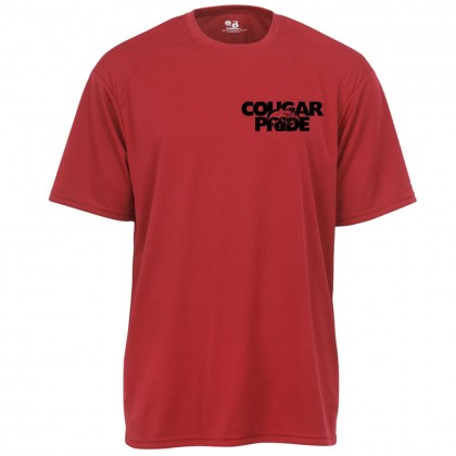 GR Whitfield Cougar Pride Performance T-Shirt   Red   Chest Logo