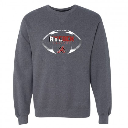 EB Aycock Football Crewneck Sweatshirt | Football Logo