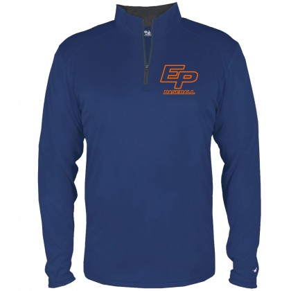 Eastern Plumbing 1/4 Zip Performance Long-Sleeve Tee