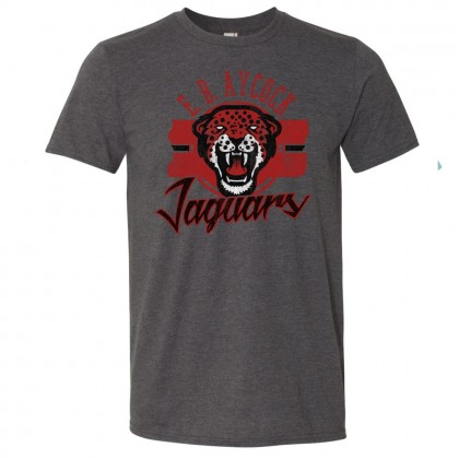 E B Aycock Jaguars Distressed Tee | Multiple Colors