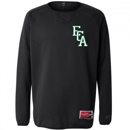 EC Auto Rawlings Long Sleeve Flatback Mesh Fleece Pullover
