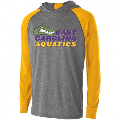 ECA Gators Swimming Echo Hooded T-Shirt