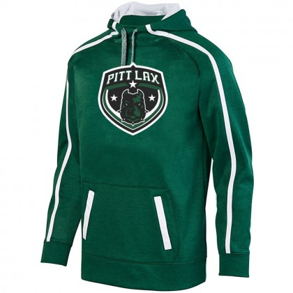 Pitt County Lacrosse Stoked Tonal Heather Performance Hoodie | Shield Logo