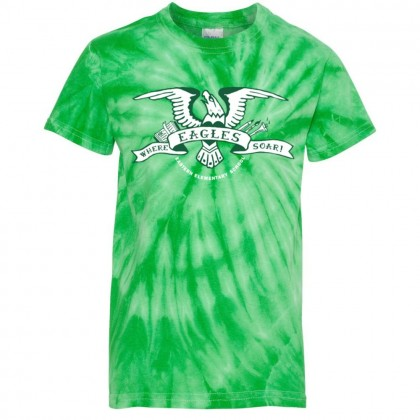 2018 Eastern Soar Tie-Dyed Tee | Green