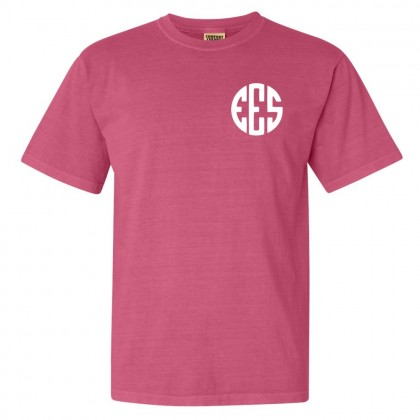 EES Monogram Style Comfort Colors Tee | Multiple Colors