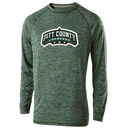 Pitt County Lacrosse Electrify Performance T-Shirt | Word Logo