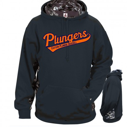 EP Plungers Camo Performance Hoodie