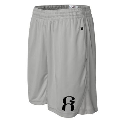 GA Coaching Shorts   Silver