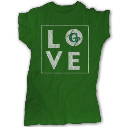 GLL Love Tee | Green