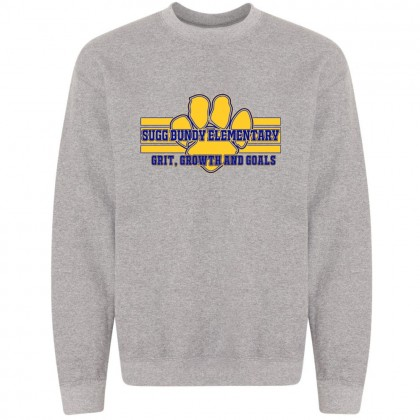 Sugg Bundy Elementary Sweatshirt | Grit Design | Grey